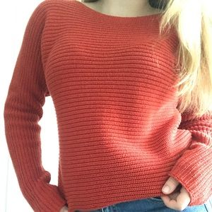👼Old Navy Red Oversized Sweater👼
